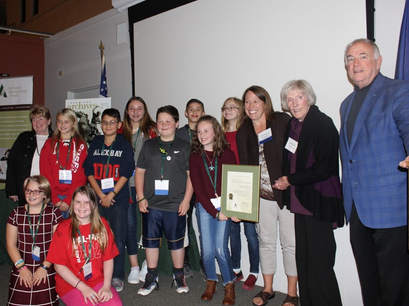 2019 Chodos Family Fund Award for Excellence in Student Research Using Historical Records, Grades 4-5 Winners