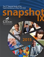 Snapshot IX The 9th Triennial Study of the Superintendency in New York State IMAGE